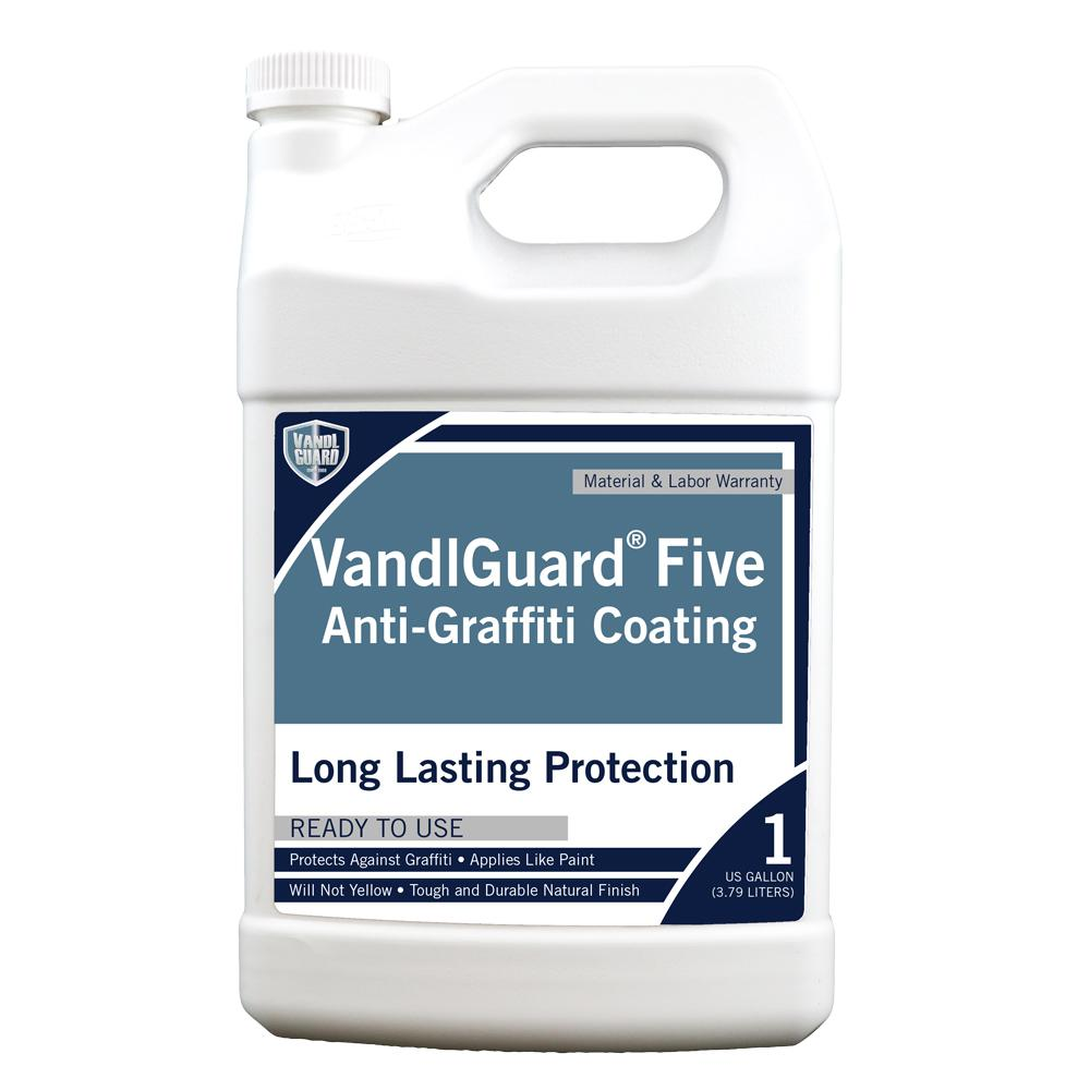 Anti Graffiti Clear Coat For Floors : Rain guard vandlsystem gal vandlguard five non
