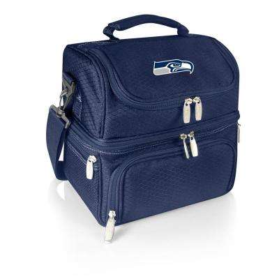 Pranzo Navy Seattle Seahawks Lunch Bag