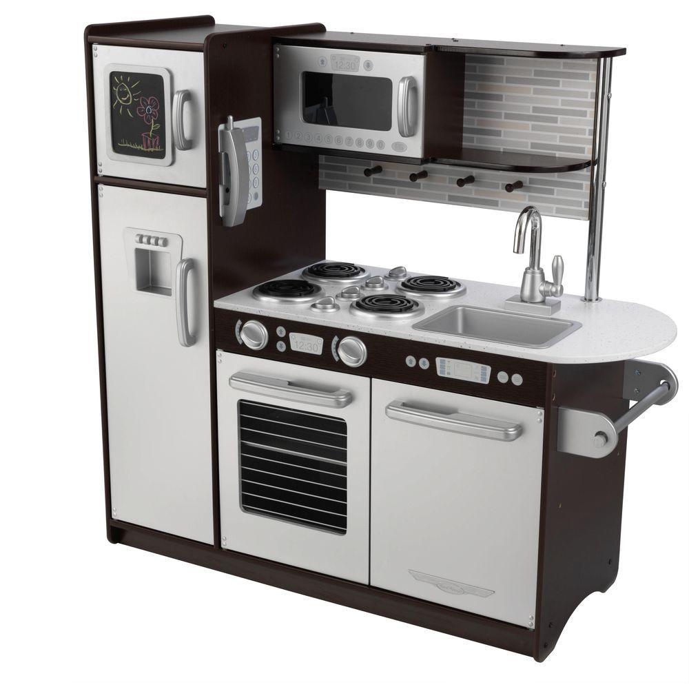 KidKraft Uptown Espresso Kitchen Playset