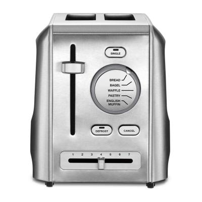 2-Slice Stainless Steel Custom Select Toaster with Crumb Tray