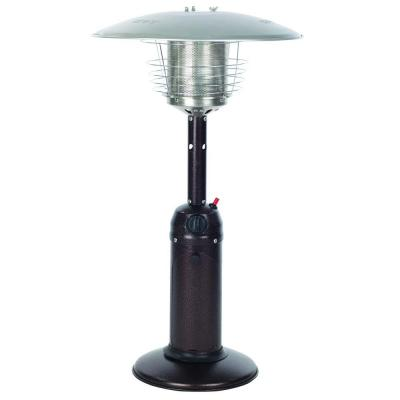10,000 BTU Hammered Bronze Tabletop Propane Gas Patio Heater