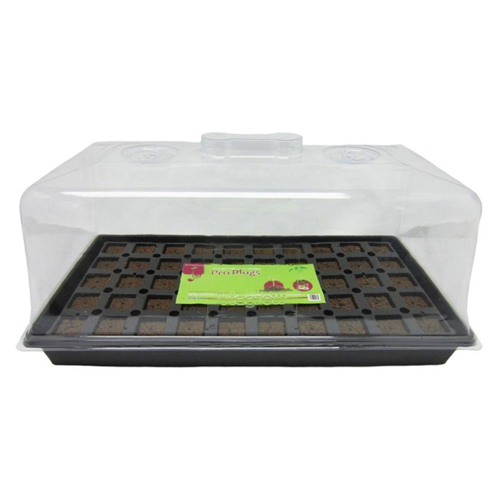 50 Site Pro Plugs with Tray, Insert and Tall Dome