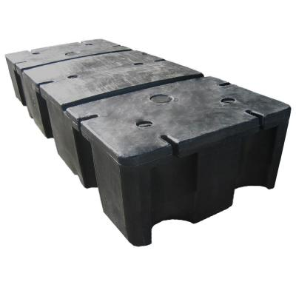 24 in. x 60 in. x 12 in. Foam Filled Dock Float Drum