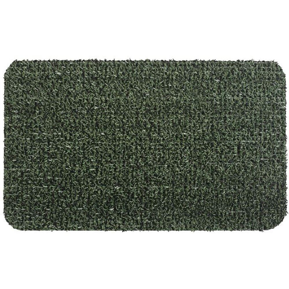 Delightful Clean Machine Flair Evergreen 24 In. X 36 In. Door Mat