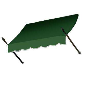 3 ft. New Orleans Awning (44 in. H x 24 in. D) in Forest
