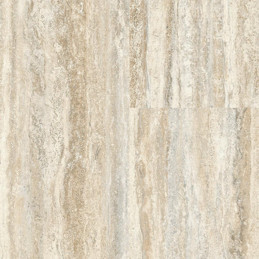 Travertine Plank Natural 12 in. Wide x 24 in. Length Click
