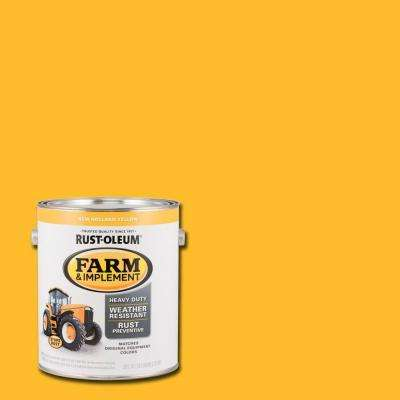 1 gal. Farm and Implement New Holland Yellow Paint (Case of 2)
