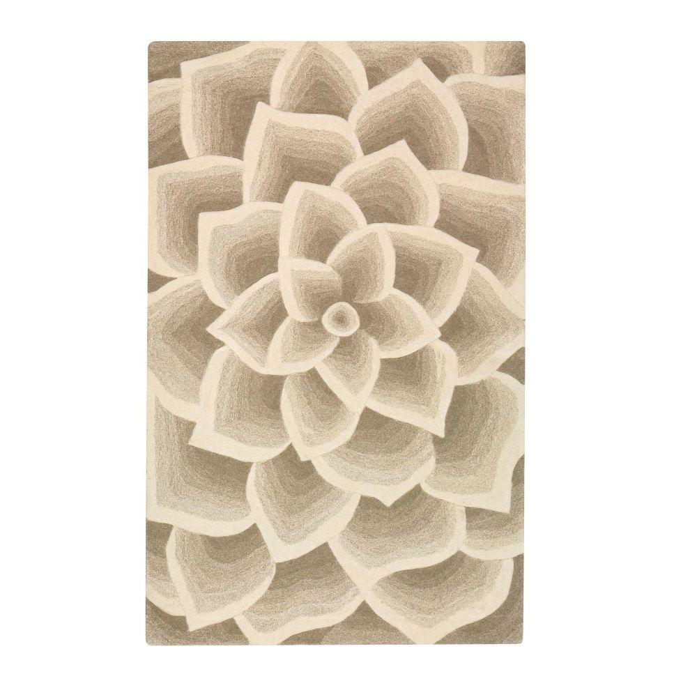 Home Decorators Collection Corolla Beige 5 ft. 3 in. x 8 ft. Area Rug