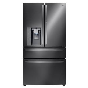 Click here to buy LG Electronics 29.7 cu. ft. French Door Refrigerator with Door-in-Door in Black Stainless Steel by LG Electronics.