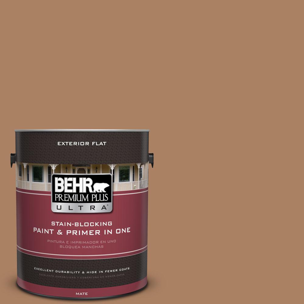 BEHR Premium Plus Ultra 1-gal. #PMD-51 Cardamom Flat Exterior Paint