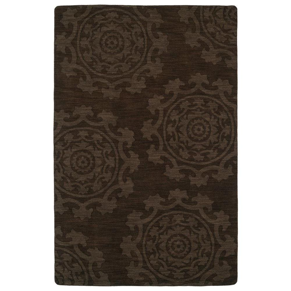 Imprints Classic Chocolate 5 ft. x 8 ft. Area Rug