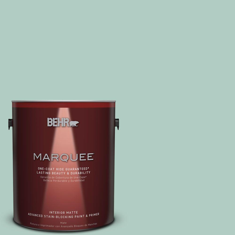 1 gal. #M430-3 Wintergreen Dream One-Coat Hide Matte Interior Paint