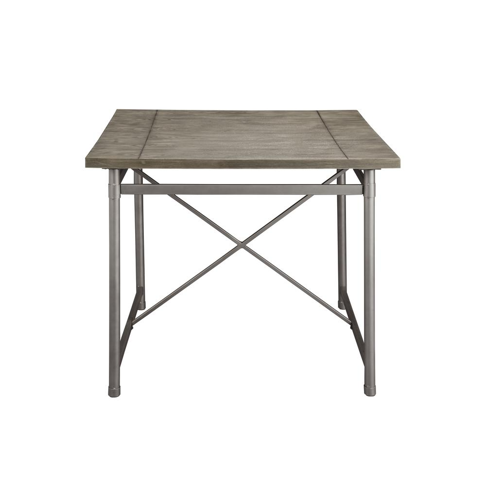 Kaelyn II Gray Oak and Sandy Gray Counter Height Table