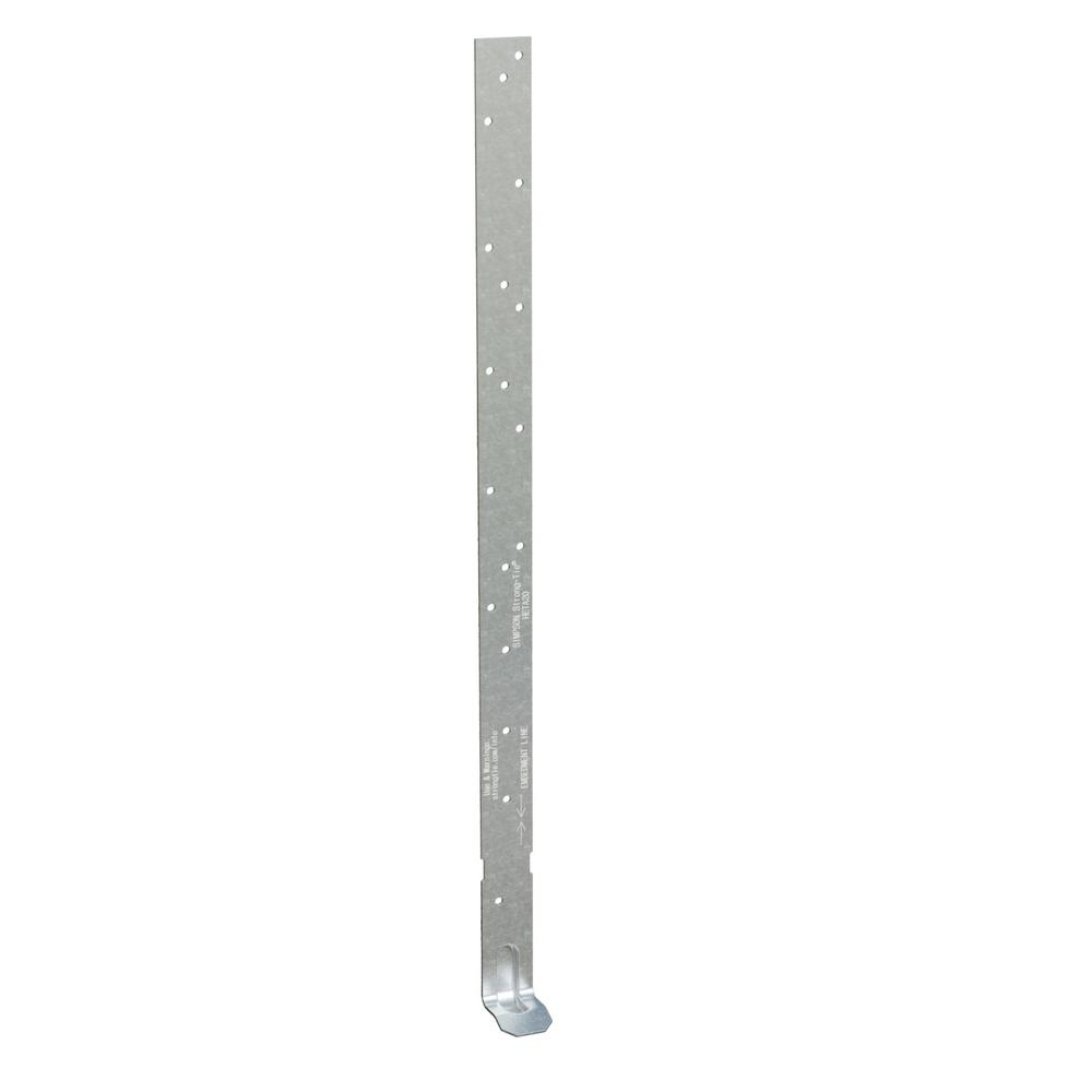 Simpson Strong-Tie HETA 16 in. Galvanized Heavy Embedded Truss Anchor