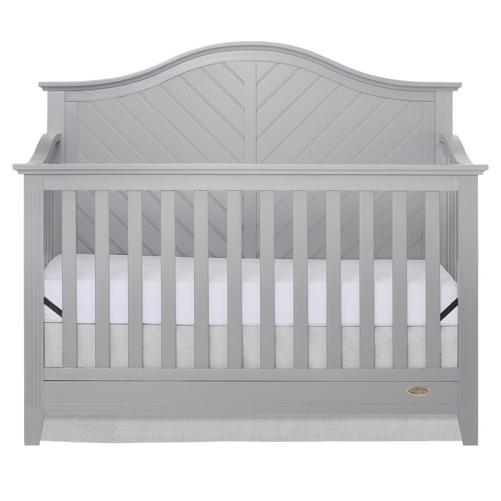 Ella Pebble Grey 5-in-1 Convertible Crib
