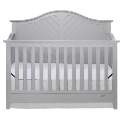 Ella Pebble Grey 5-in-1 Convertible Crib