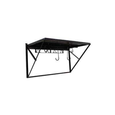 28 in. H x 49.25 in. W x 28.50 in. D Heavy Duty Steel Wall Storage Rack