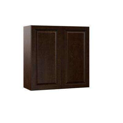 Gretna Assembled 30x30x12 In Wall Kitchen Cabinet In Espresso