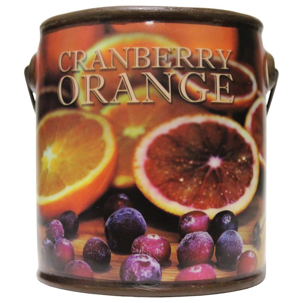 Farm Fresh Cranberry Orange Ceramic Candle