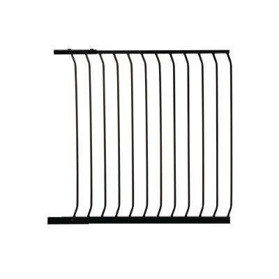 39 in. Gate Extension for Black Chelsea Extra Tall Child Safety Gate