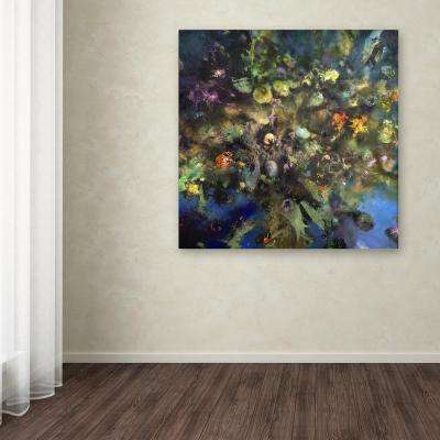 """35 in. x 35 in. """"Tree of Life"""" by Nick Bantock Printed Canvas Wall Art"""