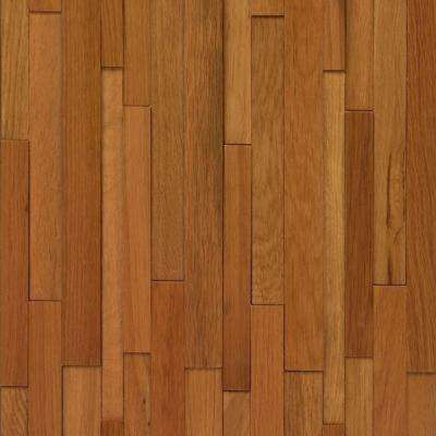 Take Home Sample - Deco Strips Marsh Engineered Hardwood Wall Strips - 5 in. x 7 in.