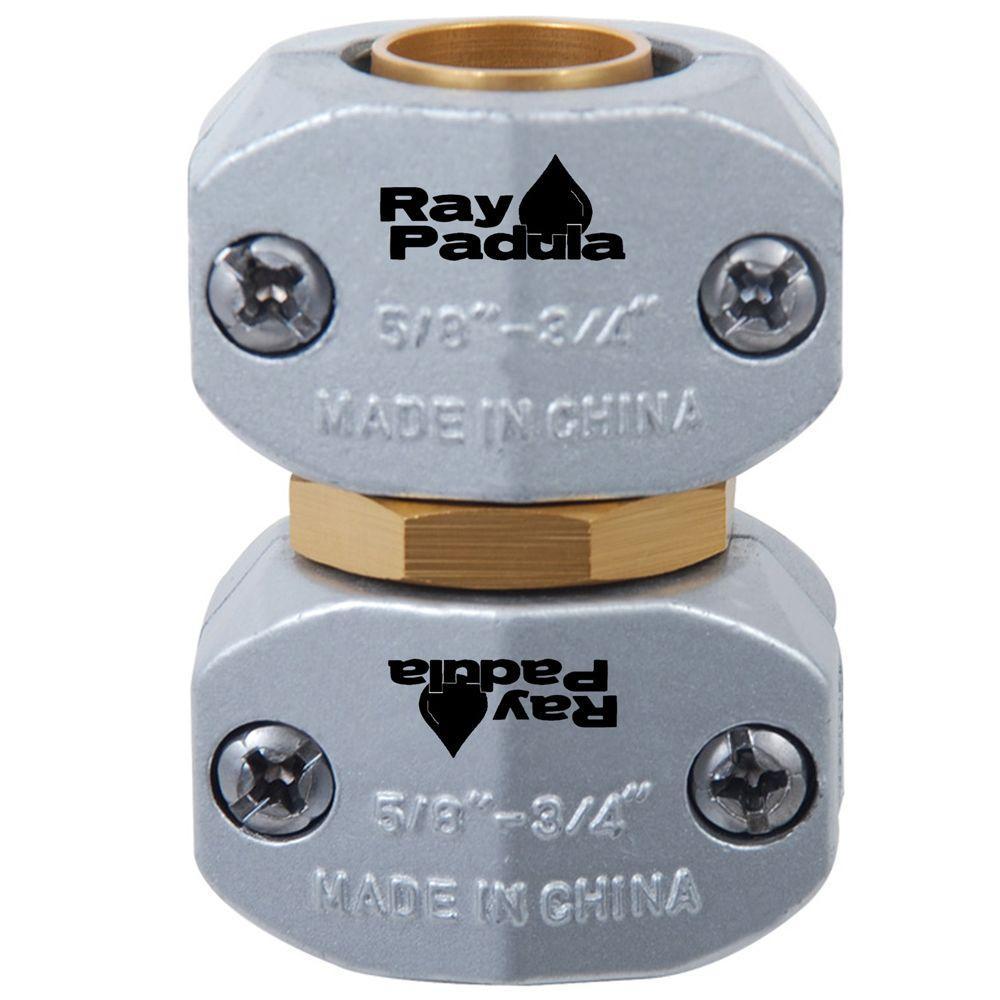 Ray Padula 5/8 in. - 3/4 in. Industrial Metal Garden Hose Repair