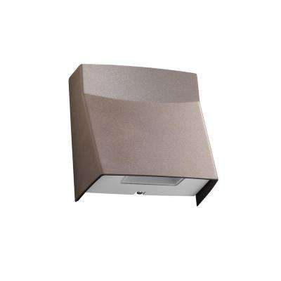 MSL Series Bronze Outdoor Integrated LED Mini Wall Pack Light