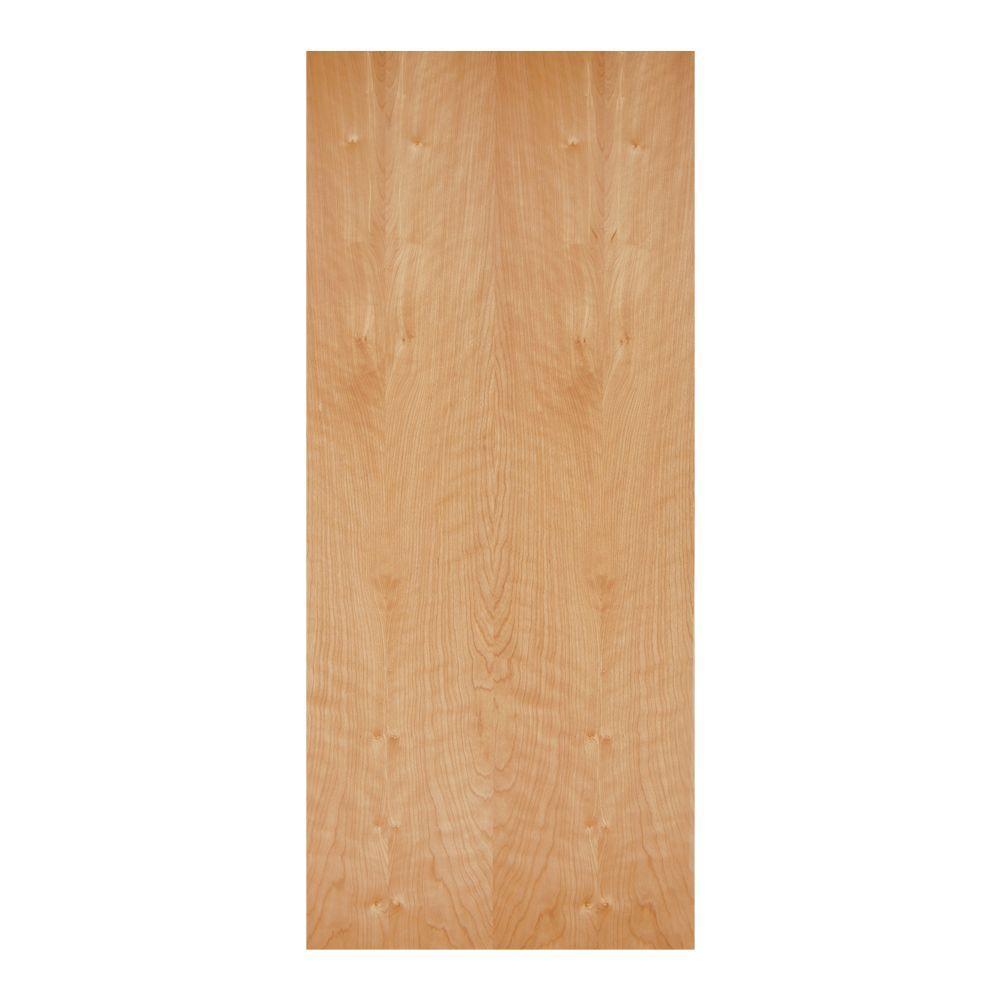 32 in. x 80 in. Birch Veneer Smooth Flush Hardwood Hollow