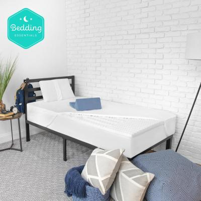Back to Campus 6-Piece Full Bedding Bundle with Mattress Topper, Memory Foam Pillow, Tablet Wedge and Mattress Protector