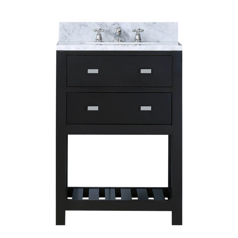 24 in. W x 21.5 in. D Vanity in Espresso with