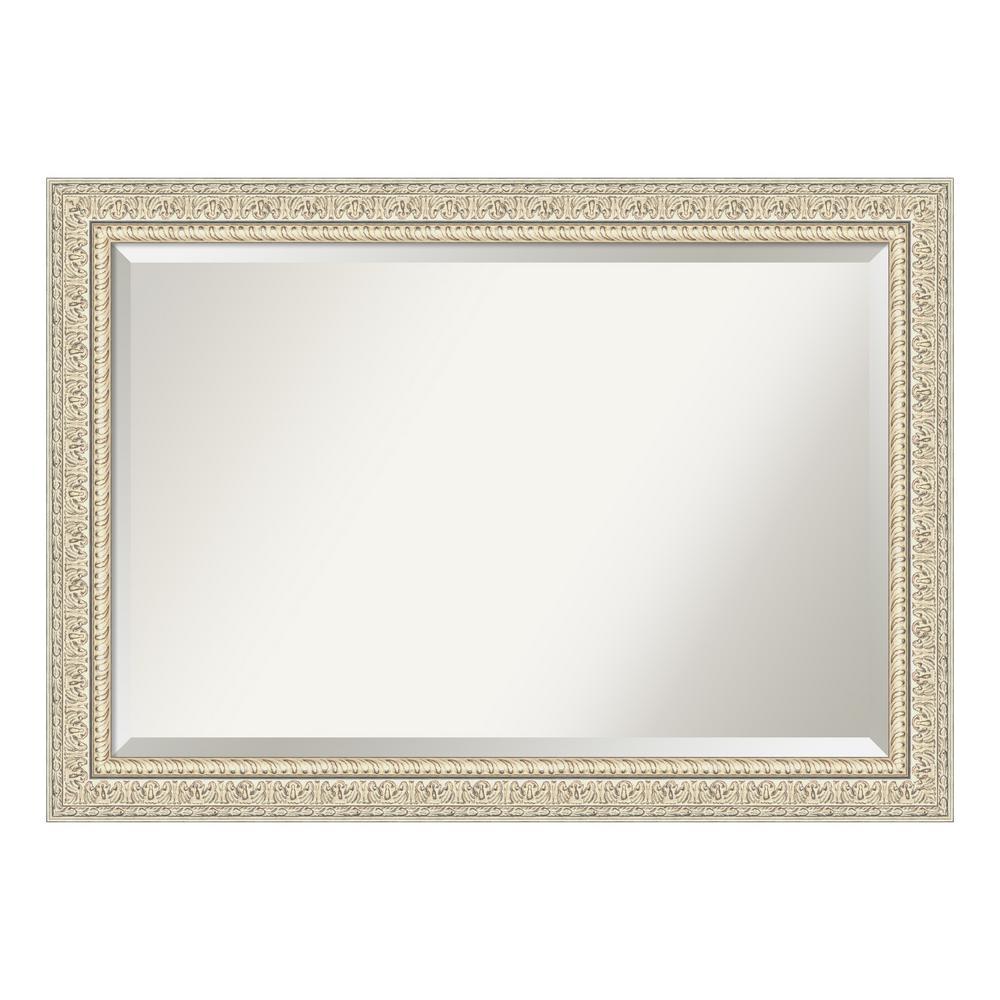 Amanti Art Fair Baroque Cream Bathroom Vanity Mirror DSW4093766