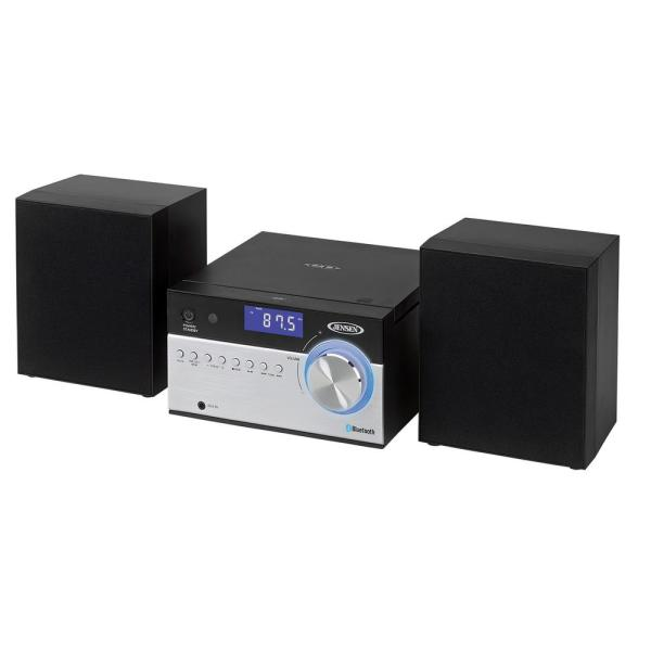 Bluetooth CD Music System with Digital AM/FM Stereo Receiver and Remote Control
