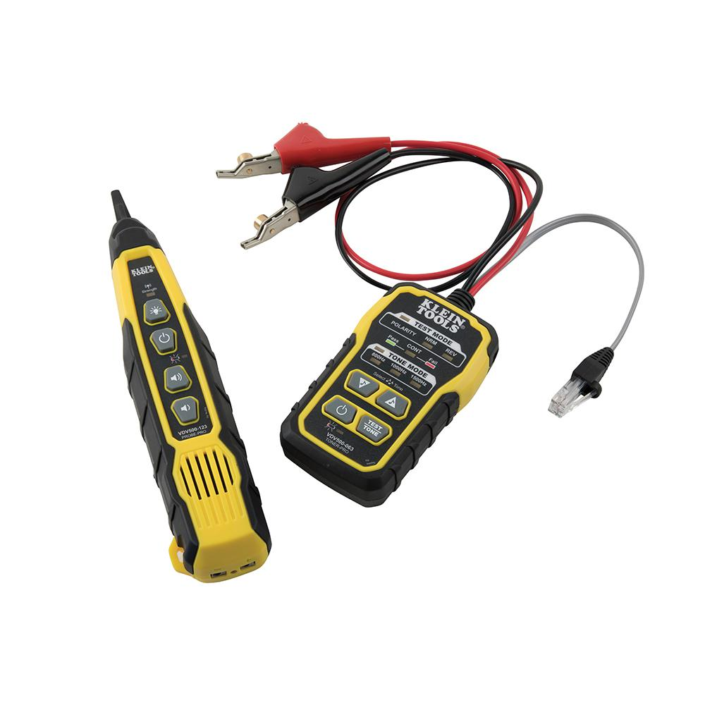 Telephone Network Tone Generator Wire Tracer /& Circuit Tester with RJ11 Plug Tone and Probe Kit