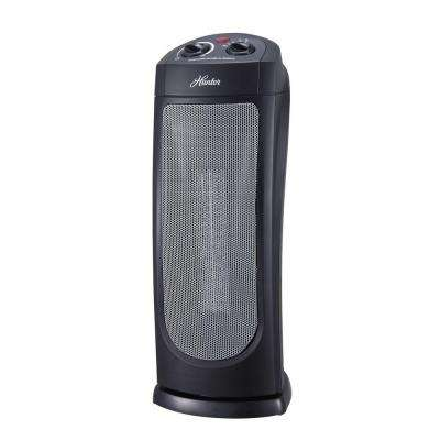 18.58 in. 1,500-Watt Oscillating Ceramic Tower Heater