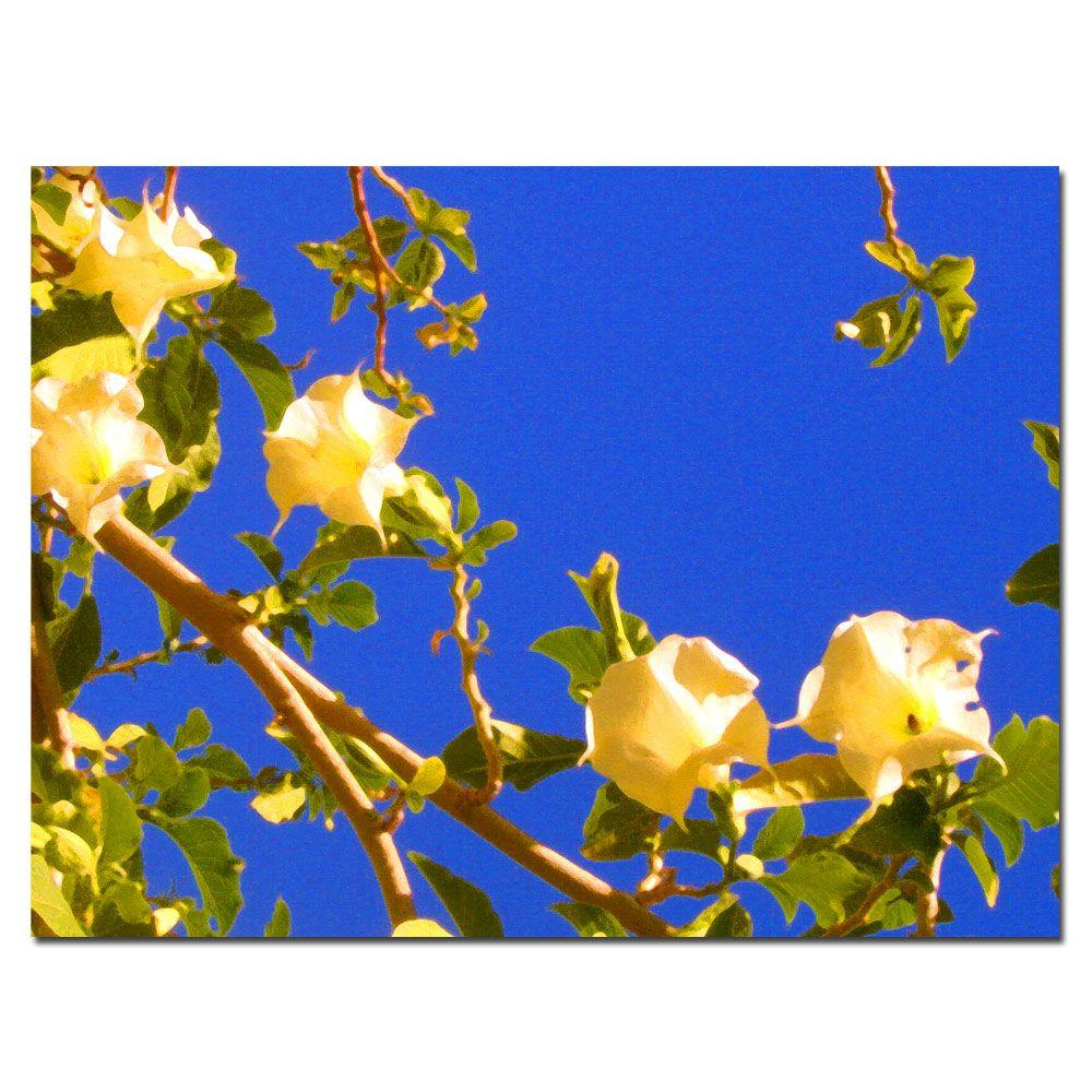 Trademark 24 in. x 32 in. Flowering Tree Canvas Art