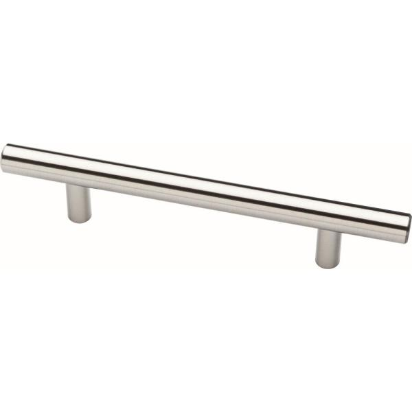 Liberty Essentials 3 In 76mm Center To Center Satin Nickel Steel Bar Drawer Pull 25 Pack P15510k Ss B The Home Depot