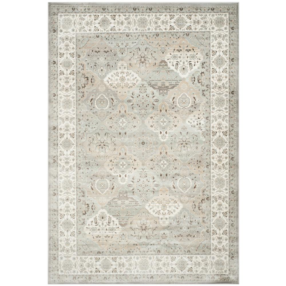Safavieh Persian Garden Silver Ivory 8 Ft X 10 Ft Area