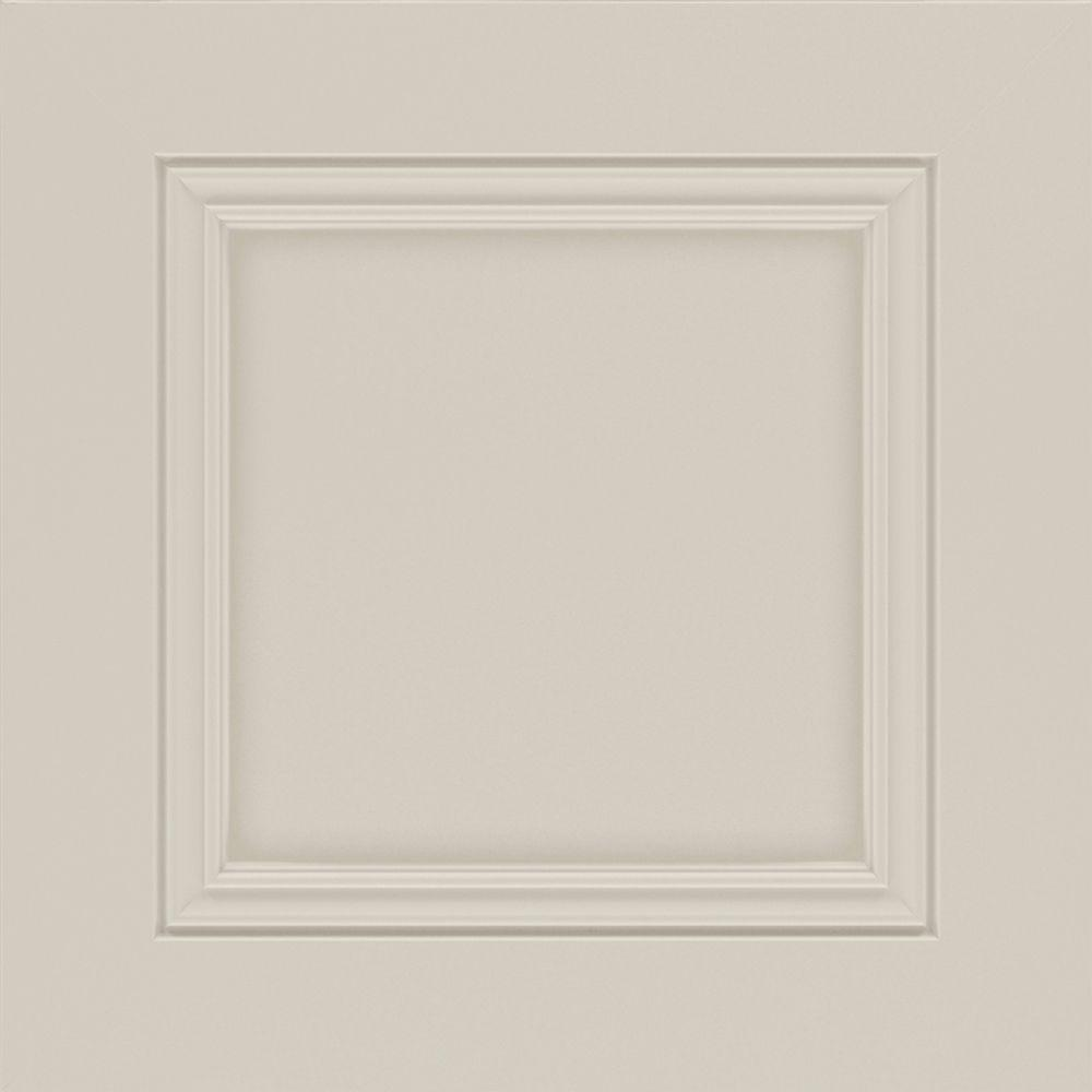 Awesome 14.5x14.5 In. Landover Cabinet Door Sample In Sharkey Gray