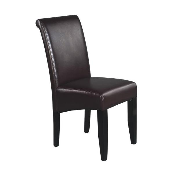 Eco Leather Parsons Dining Chair
