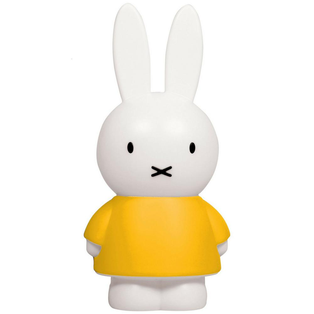 Miffy the Bunny 12 in. Yellow Children's LED Lamp
