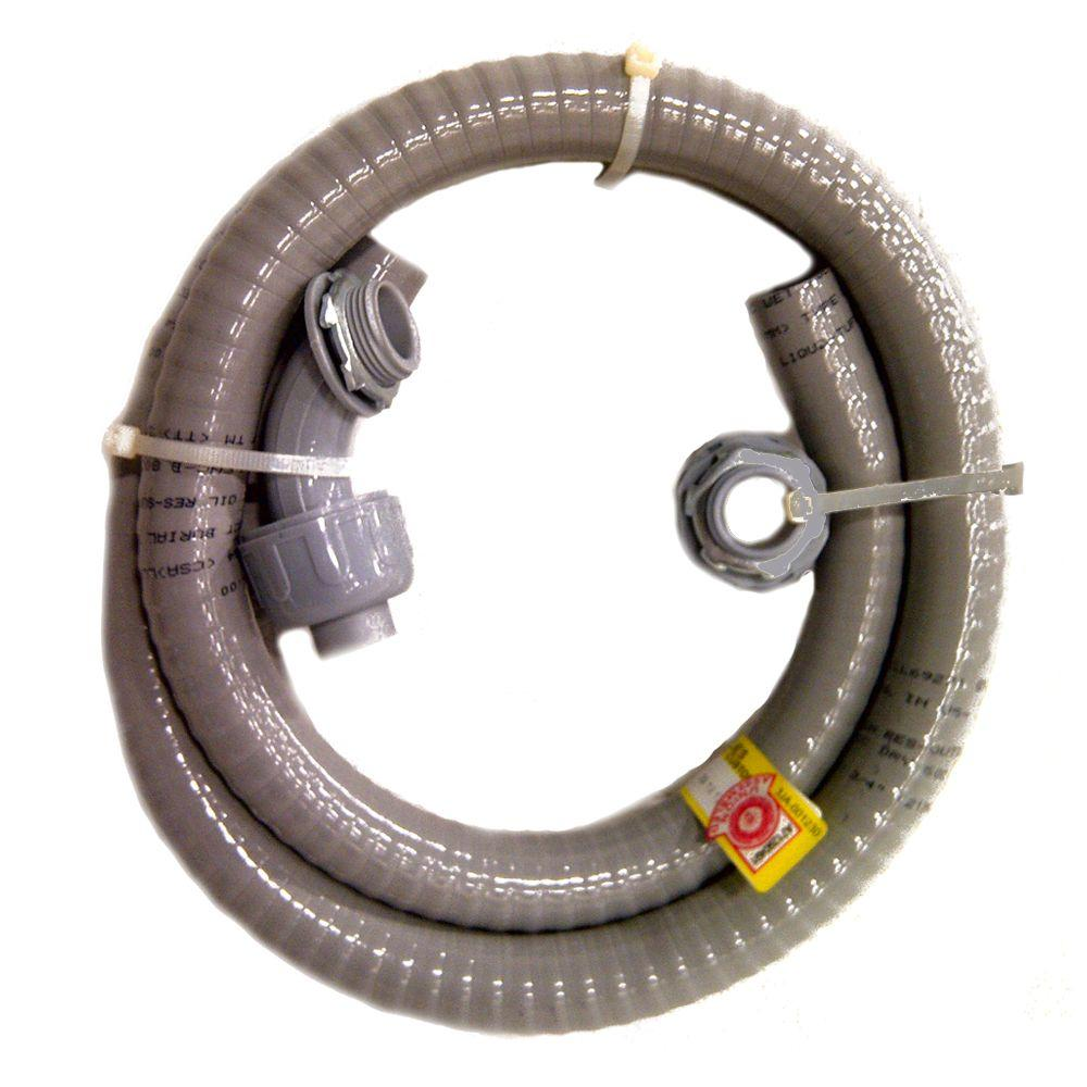 AFC Cable Systems 3/4 x 6 ft. Non-Metallic Liquidtight Whip