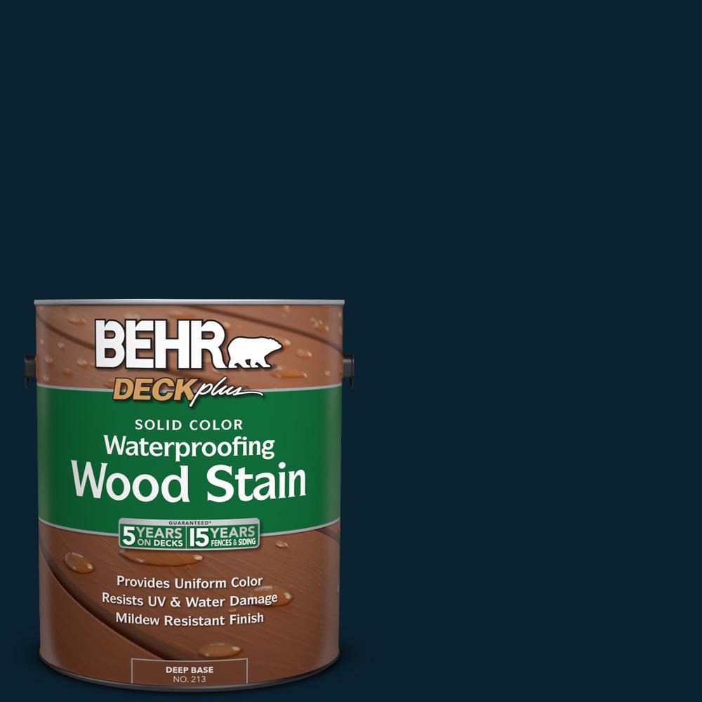 1 gal. #SC-101 Atlantic Solid Color Waterproofing Wood Stain