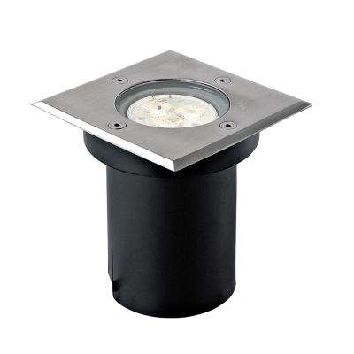 3-Watt Stainless Steel Outdoor Integrated LED Landscape Well Light
