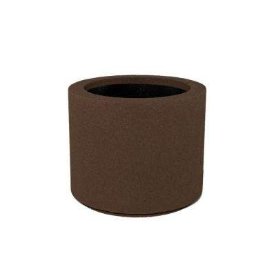 Baja 23 in. x 19 in. Brown Round Planter
