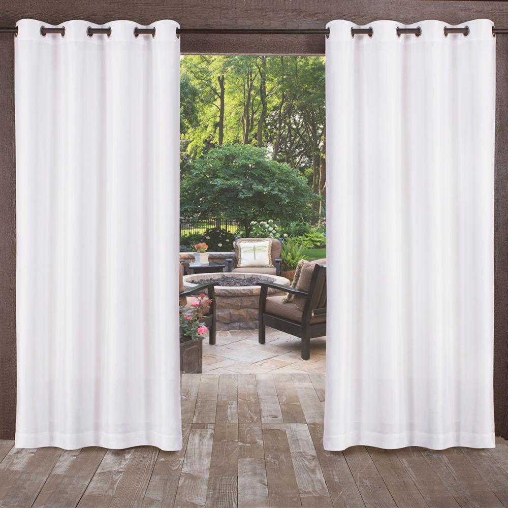 Exclusive Home Curtains Biscayne 54 In. W X 120 In. L