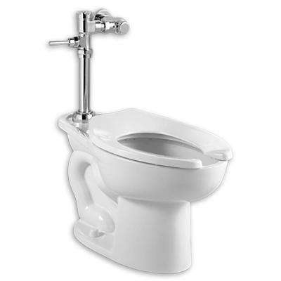Madera 1-Piece 1.28 GPF Single Flush Elongated Toilet in White