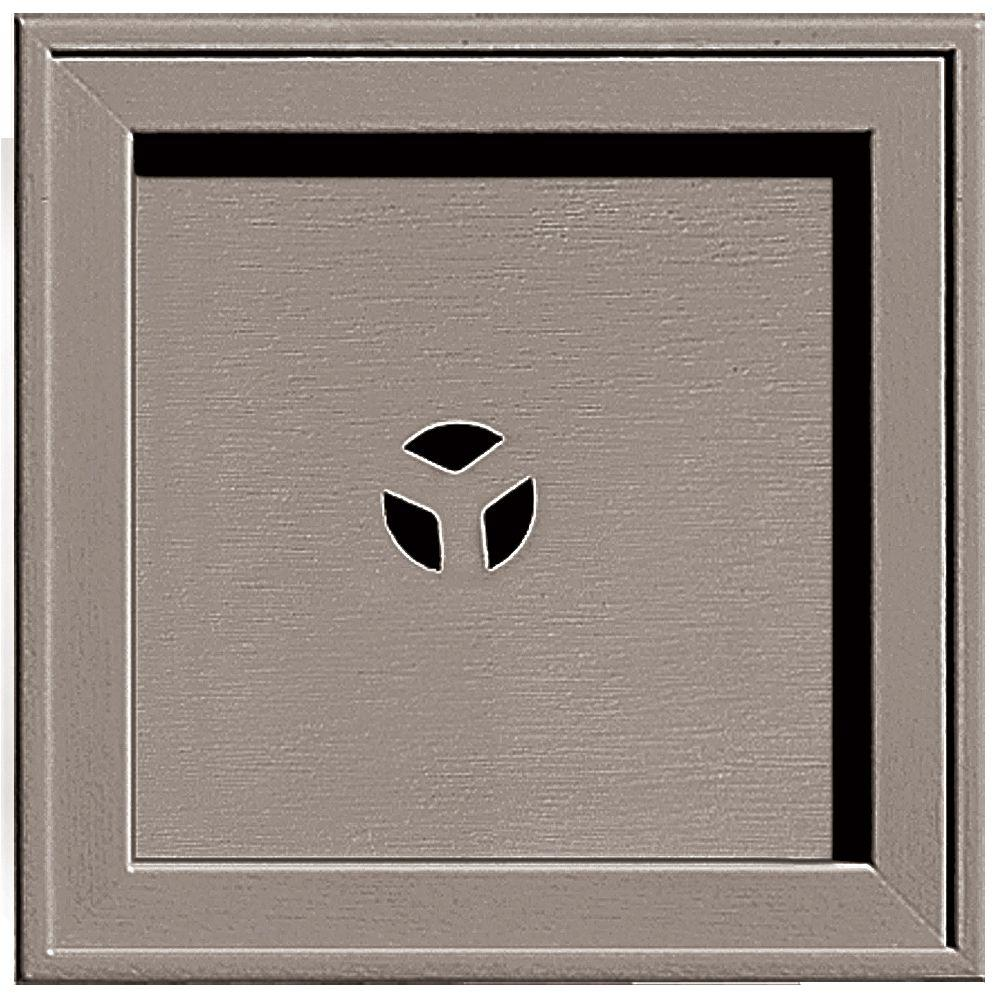 7.75 in. x 7.75 in. #008 Clay Recessed Square Mounting Block