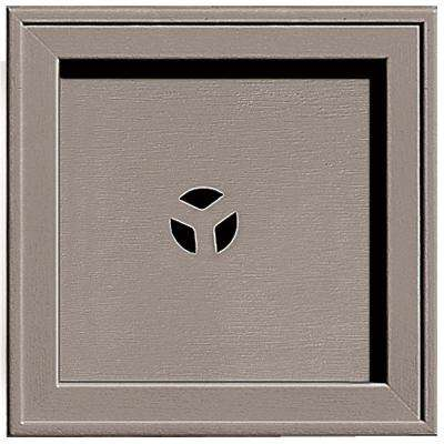 7.75 in. x 7.75 in. #008 Clay Recessed Square Universal Mounting Block