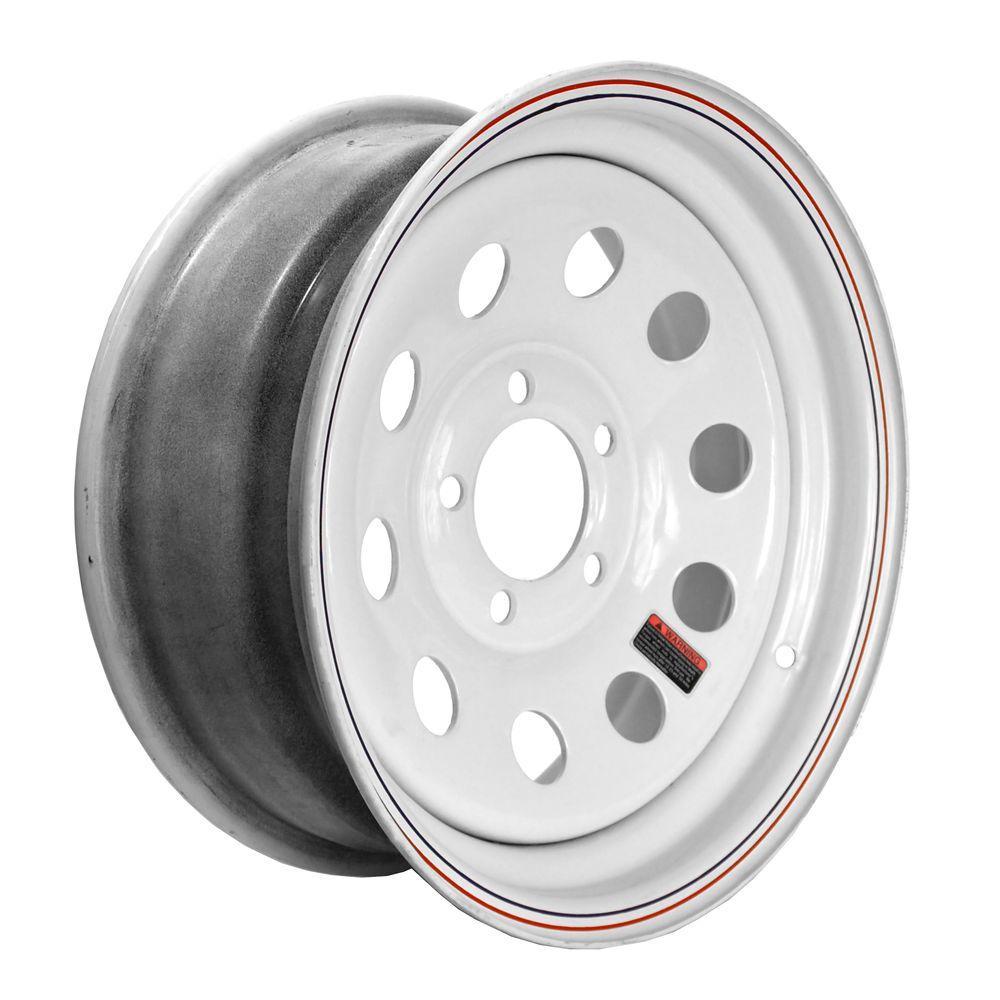 15x6 5-Hole 15 in. Steel Mod Trailer Wheel/Rim